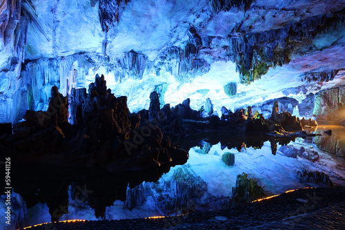 Poster Guilin Reed Flute Caves in Guilin, Guangxi Provine, China