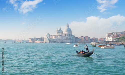 Cadres-photo bureau Venise Gondola in Venice