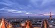Leinwanddruck Bild - Paris, by night
