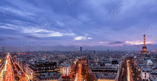Papiers peints Paris Paris, by night