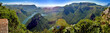 canvas print picture - Blyde Canyon (South Africa) Panorama