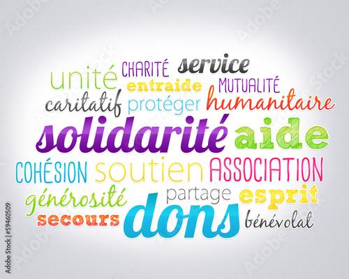 Fotografía  association solidarité