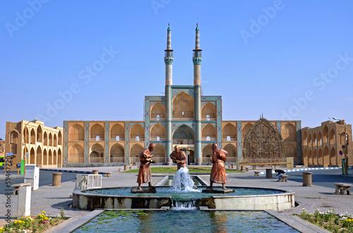 Fotografie, Obraz  Amir Chakhmaq Complex in Yazd,Iran
