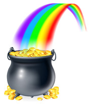 Pot Of Gold At The End Of The ...