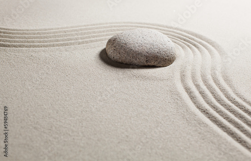 Acrylic Prints Stones in Sand progression with suppleness