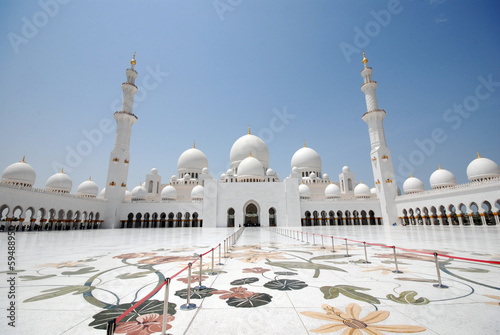 Photo  Sheikh Zayed Grand Mosque