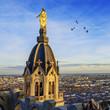 Lyon by sunset