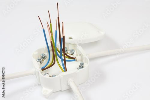 Fototapeta Rozgałęźnik elektryczny obraz