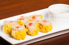 Pork Siomai With Hot Chili Soy...