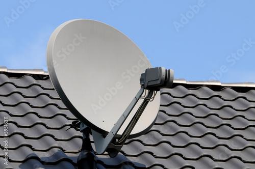 Fotografia  Satellitenschüssel