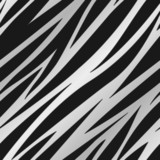 Zebra Print Silver