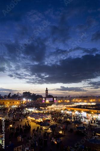 Staande foto Marokko View of Marrakech