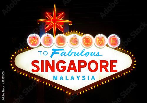 In de dag Las Vegas Singapore