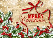Orgeous Christmas Card. Bullfi...