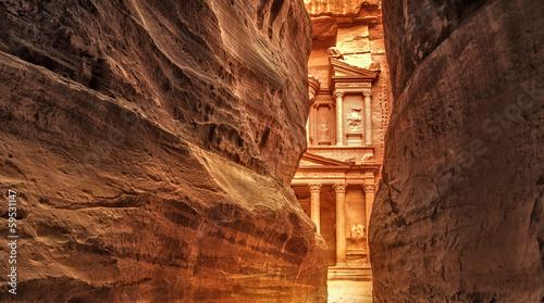 Fotomural Siq in Ancient City of Petra, Jordan