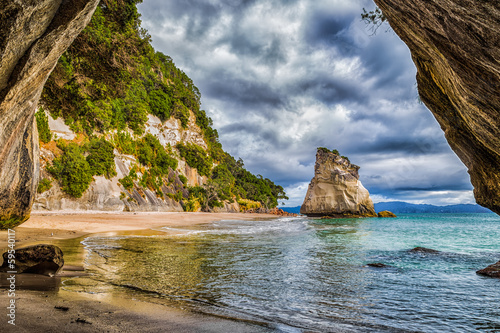 Poster de jardin Cathedral Cove Cathedral Cove