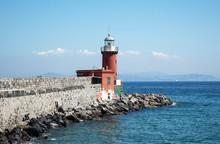 Leuchtturm Ischia Porto