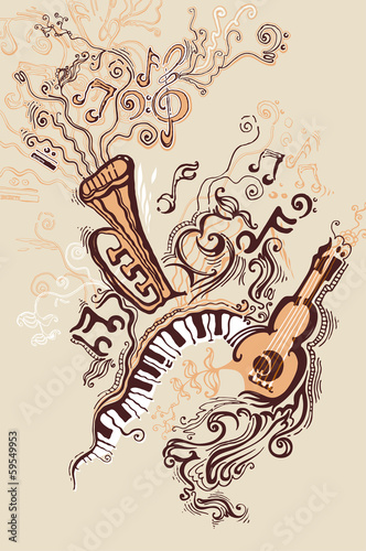 ilustracja-fantasy-na-temat-muzyczny