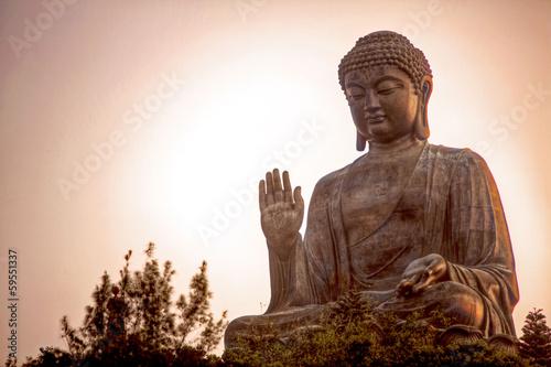 Tuinposter Boeddha Giant Buddha