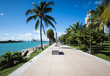 Miami beach walkway