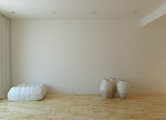 Fototapeta na wymiar White interior