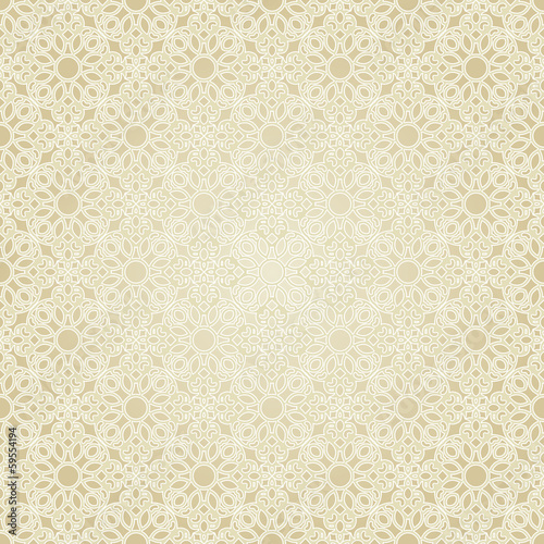 Photo  Seamless pattern in mosaic ethnic style.