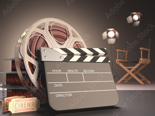 Poster  Clapboard