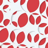 abstract background of circles in different sizes.paper backgrou