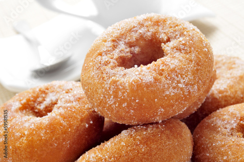 rosquillas, typical spanish donuts Fototapet