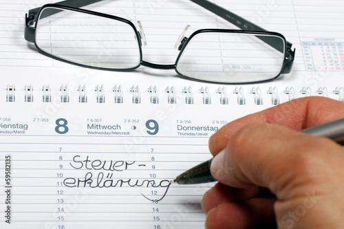 Steuererklärung Brille