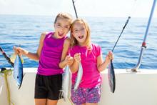 Happy Tuna Fisherwomen Kid Gir...