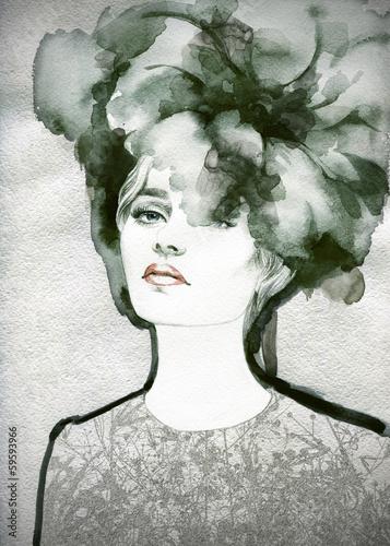 sliczna-kobieta-recznie-malowane-ilustracja-mody