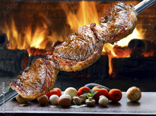 Photo Stands Grill / Barbecue Picanha