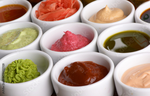 Photo  sauces collection