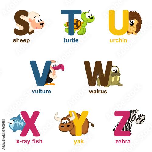 alfabet-zwierzat-od-s-do-z-ilustracji-wektorowych