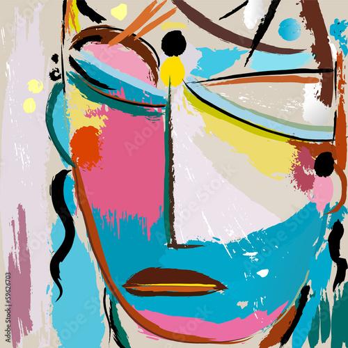 abstrakcyjne-tlo-z-pedzlem-i-plamami-twarzy-lub-mas