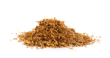 Bunch Of Tobacco Isolated On W...