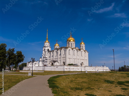 Deurstickers Buenos Aires Dormition Cathedral in Vladimir, general view