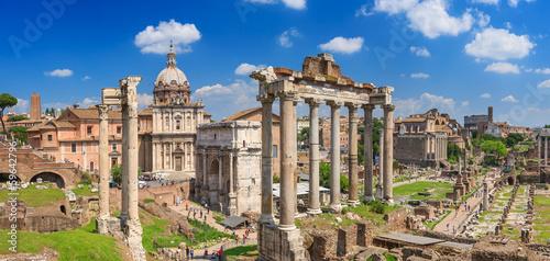 Fotografía  Roman Forum in Rome