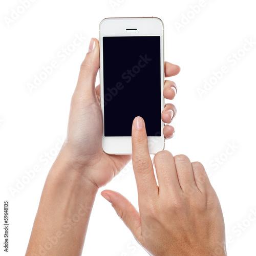 Foto  Das ist mein brandneues Handy
