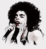 afro-amerykański wokalista jazzowy - 59657131