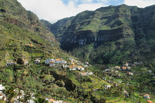 The Valle Gran Rey On The Island La Gomera
