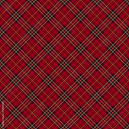 czerwona-szkocka-krata