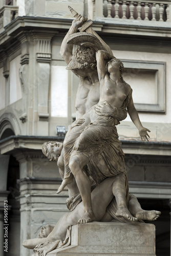 Keuken foto achterwand Berlijn Palazzio Vecchio Florenz Italien Skulptur