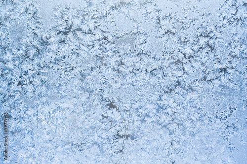 Poster Arctic Frost pattern