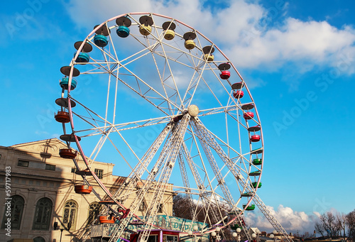 Papiers peints Attraction parc la grande roue