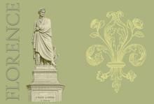 Florence Dante Illustration