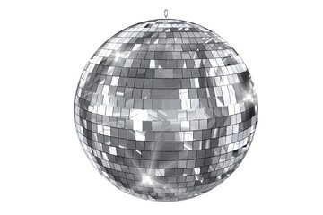 Fototapeta Disco Ball Isolated