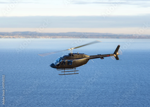 Papiers peints Hélicoptère Helicopter