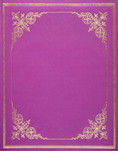 Pink Leather Cover